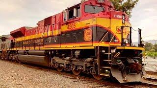 kcsm morelia la serie 4200 regresa y locomotora accidentada