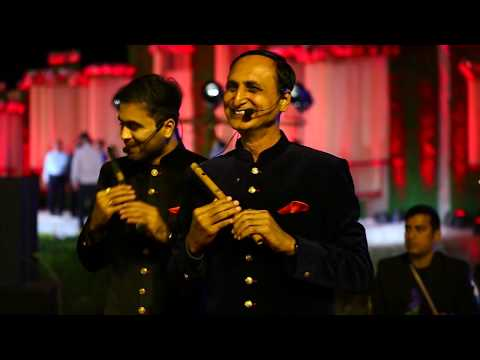 Aaj Se Teri (Padman) & Do Lafzon Ki Hai Flute Cover (Ft. Wedding Shows) By Divine Flute