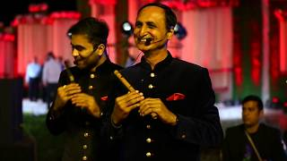 Aaj Se Teri (Padman) & Do lafzon ki hai Flute cover (Ft. Wedding shows) by Divine flute