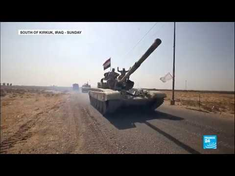 Iraq; Army Forces Launch Offensive Against Kurds In Kirkuk