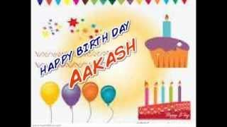 HAPPY BIRTH DAY AKASH