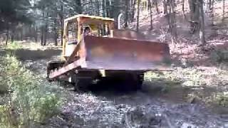 Allis-Chalmers HD9 crawler/dozer drive by