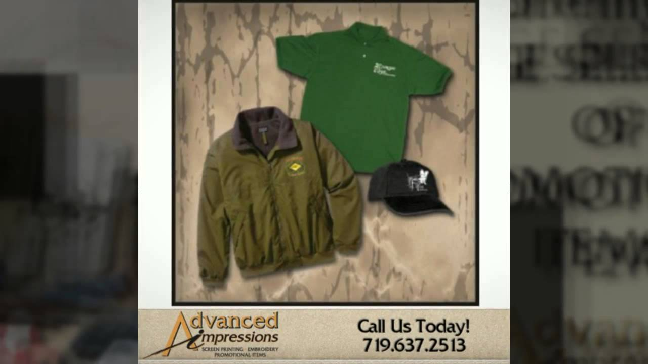Embroidery Screen Printing In Colorado Springs Call 719 637