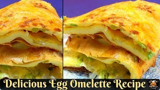 Delicious Egg Omelette   Best HEALTHY Breakfast Recipe - By Better Ways For Cooking.