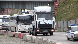 Дальнобойщики Новороссийска против платона. 30.11.2015