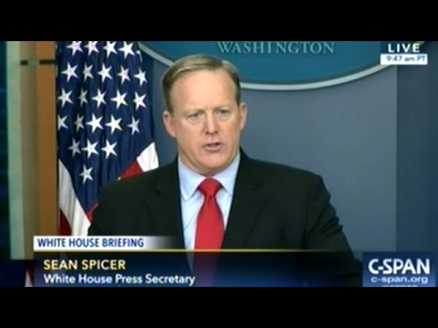 Thumbnail: Another Heated White House Daily Briefing For Sean Spicer 2/03/2017 (FULL)