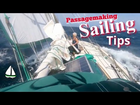 Offshore Sailing Tips: Storms At Sea, Tame The Autopilot + Mainsail Battens - Patrick Childress #38