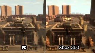 Grand Theft Auto IV - PC 360 Comparison High  Quality