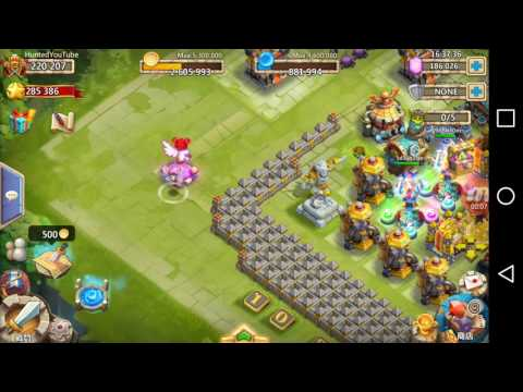 CC #69 Lady Boom Gameplay By Hunted Castle Clash | Schloss Konflikt