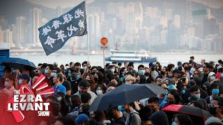 Gordon Chang: Popular support of Hong Kong's guerrilla protesters should scare China | Ezra Levant