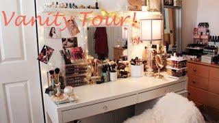 Vanity Tour| Makeup Collection| Makeup Storage