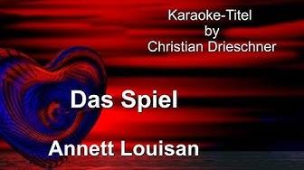 Das Spiel - Annett Louisan - Karaoke