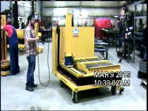 Titan Mold Cart 143267: 2 X 4000 Lb Capacity