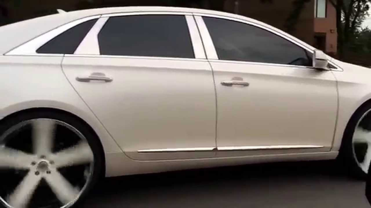 2013 Cadillac Xts On 24 Quot Versante Youtube