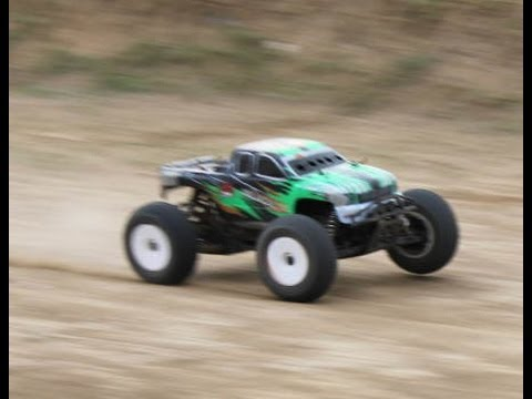 Rc Monster Trucks Nitro And Electric Racing Action Youtube
