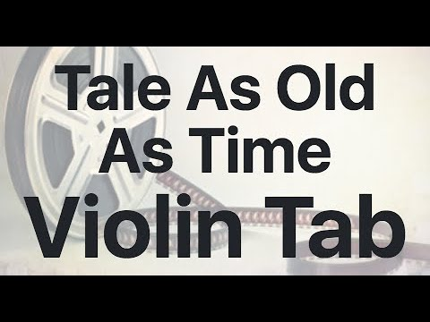 Learn Tale As Old As Time On Violin - How To Play Tutorial