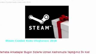 Steam Ücretsiz Cüzdan Kodu Oluşturucu 2018
