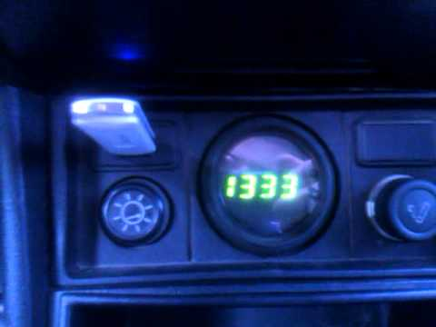 Электронные часы в ваз 2107