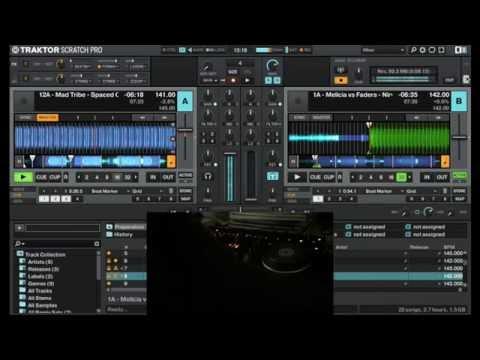 Full On Psytrance fun mix using Traktor Kontrol S4 MK2