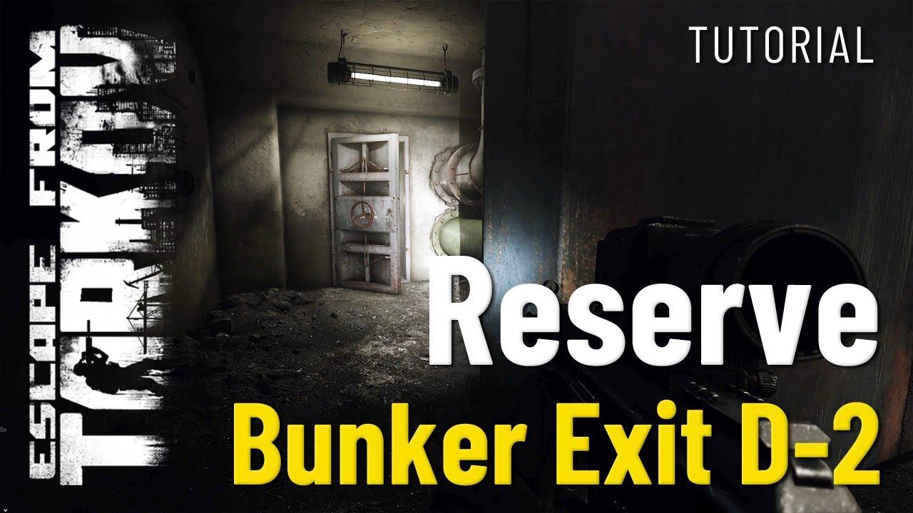 Bunker-Exit D-2 auf Reserve - Escape from Tarkov - Tutorial (Deutsch)