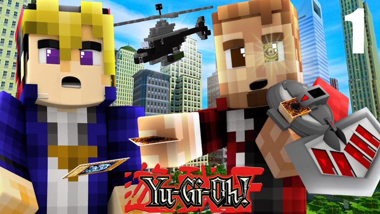 minecraft yugioh  1  battle city   minecraft roleplay   ep 1
