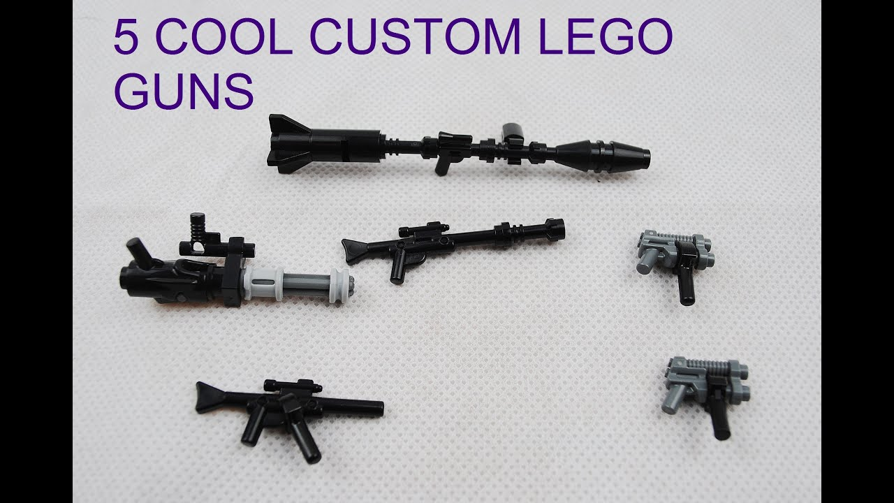 How To Build A Lego Gun Instructions