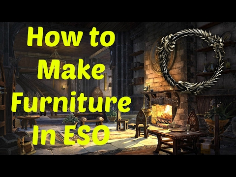 Eso How To Make Furniture