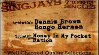 Dennis Brown + Bongo Herman - Money In My Pocket/Ration
