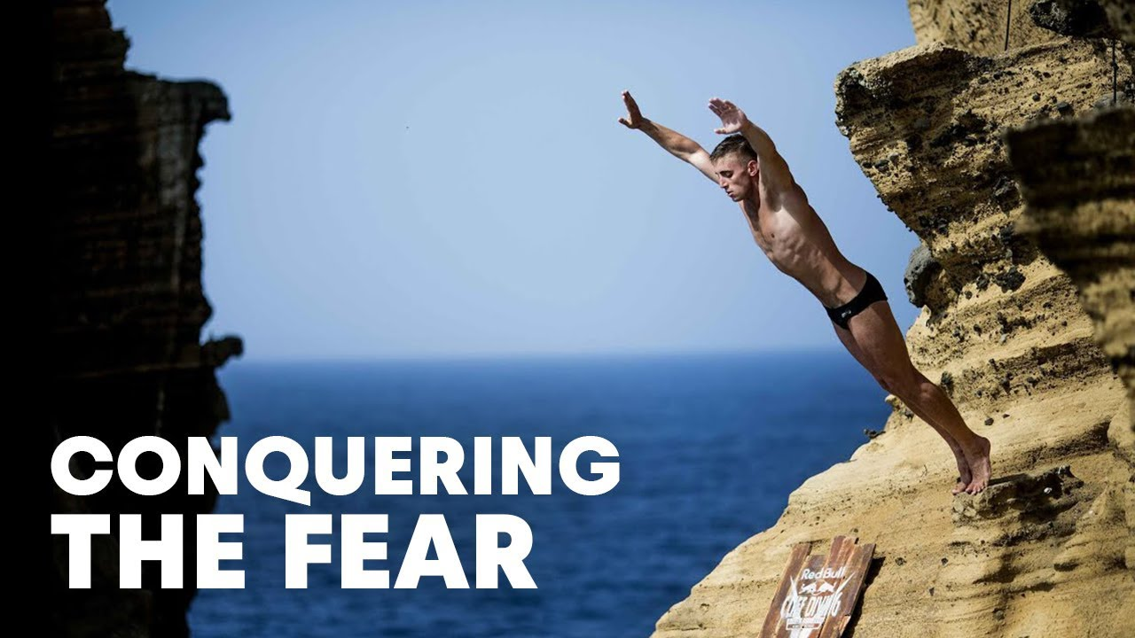Conquering the fear of cliff diving red bull cliff - The cliff dive ...