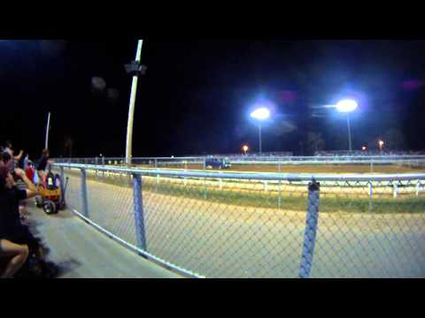 pure Stocks tearing up the track at Amsoil Speedway