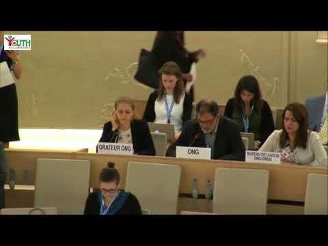 Altaf Hussain Wani Item 9 General Debate 29th Meeting HRC36