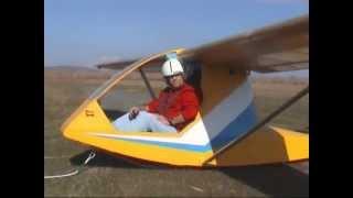 Κατασκευή υπερελαφρού ανεμοπτέρου  ΚΙΚΙ-7 (ultralight Glider Construction In Greece)