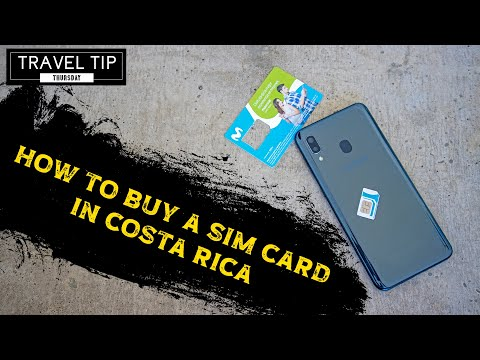 Buying A SIM Card In Costa Rica 🇨🇷 - Travel Tip Thursday - How To Travel Costa Rica
