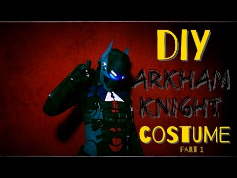 How to Make An Arkham Knight Costume - Part 1