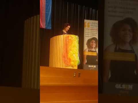 Keynote at 2017 GLSEN Massachusetts