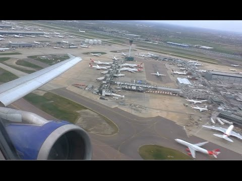 British Airways Airbus A321-231 | London Heathrow to Manchester | Takeoff and Landing - BA1394
