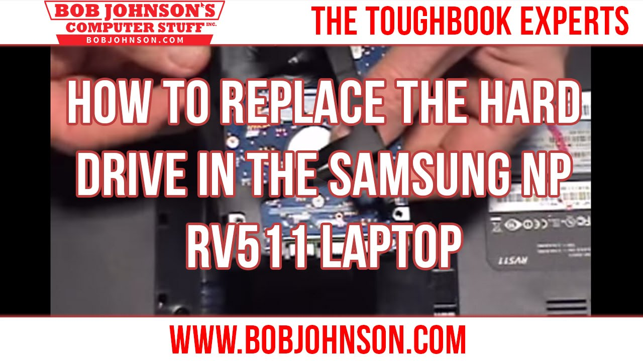 Samsung notebook hoyt6yx - How To Replace The Hard Drive In The Samsung Np Rv511 Laptop
