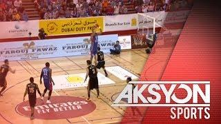 Mighty Sports PH, undefeated pa rin sa Dubai International Basketball Championships