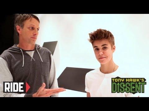 Tony Hawk Interviews Justin Bieber - Dissent
