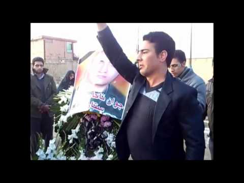 Iran Tehran 13 Dec 2012 Robat karim, Satar Beheshti 40 day ceremony at his grave