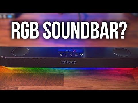 Creative BlasterX Katana Gaming Soundbar Review!