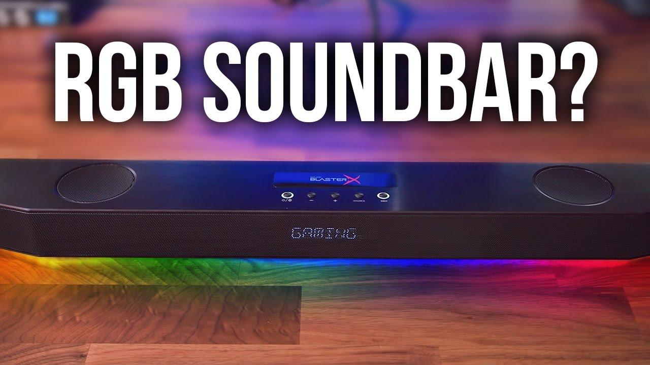 Creative Blasterx Katana Gaming Soundbar Review Doovi
