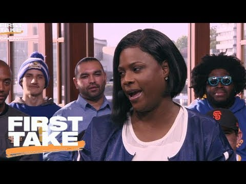 Thumbnail: Draymond Green's Mom On Her Son's Emotions and Kevin Durant | First Take | June 5, 2017