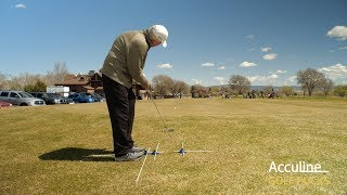 How to Setup Chipping with Golf Pucks Swing Trainer