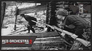 CQB-Heaven in Stalingrad - Red Orchestra 2 - Soviet Elite Rifleman Gameplay