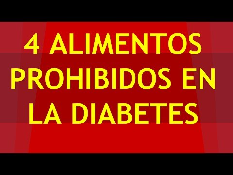 ►► 4 Alimentos Prohibidos Para Diabeticos QUE DEBES EVITAR ◄◄