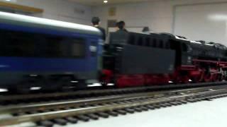 HO DB01 ドイツ国鉄01の牽くイタリア国鉄の寝台列車