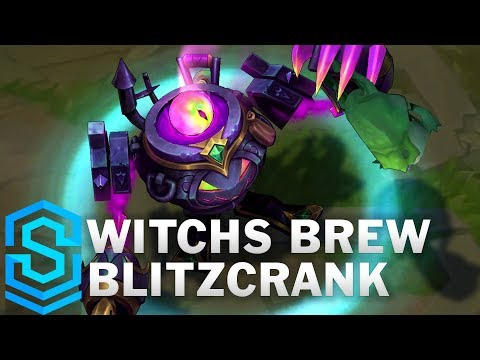Witchs Brew Blitzcrank Skin Spotlight - League of Legends