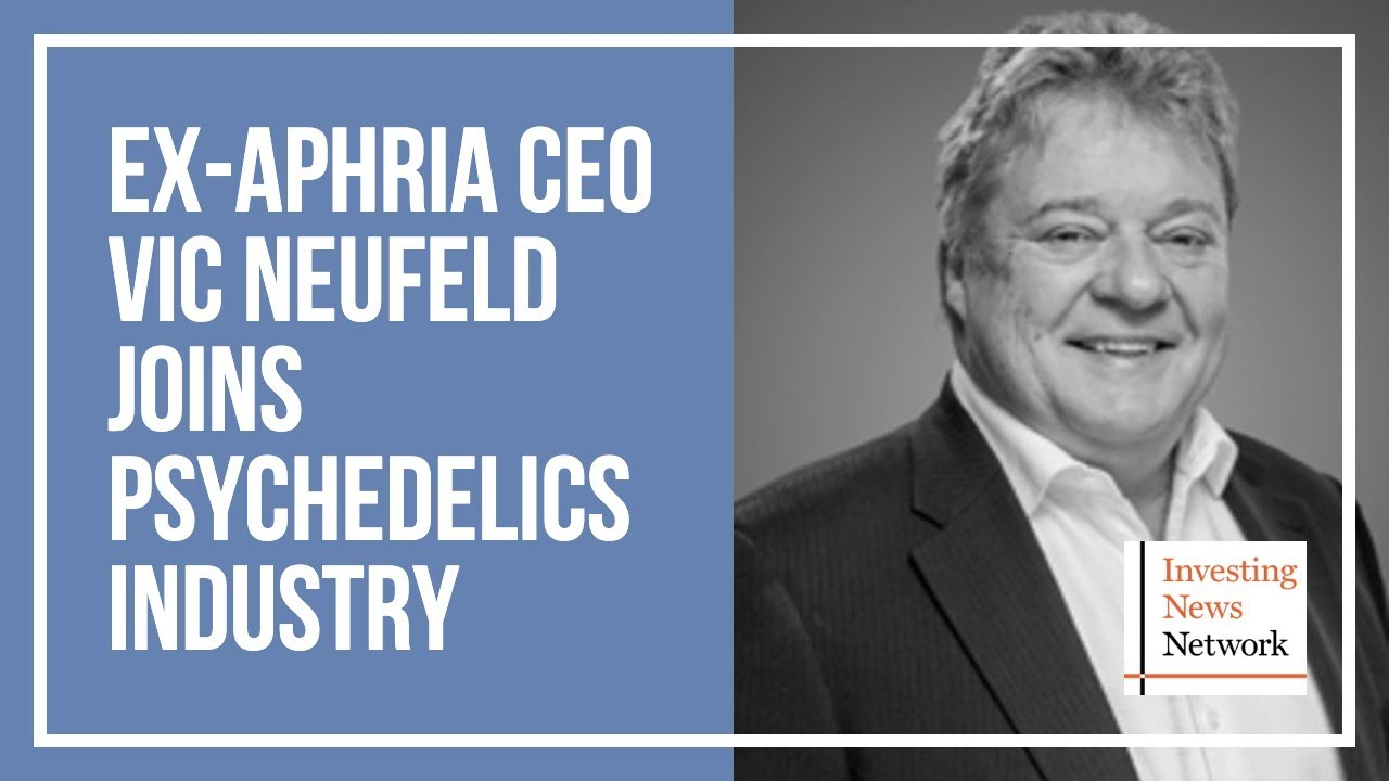 Ex Aphria Ceo Vic Neufeld Joins Psychedelics Industry Youtube
