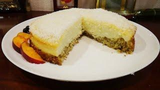 Творожная запеканка пошаговый рецепт с фото - простой творожный пирог | #творожнаязапеканка #edblack